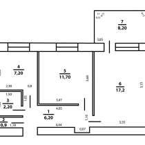 Двухкомнатная квартира в Абовян, в г.АБОВЯН
