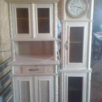 Часы напольные и буфет под старину, новые, неокрашенные, в г.Петропавловск
