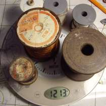 Проволока - нихром, манганин, константан. 6 бухт, в Челябинске