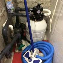 Фильтровальная установка для бассейна (насос+фильтр), в Екатеринбурге