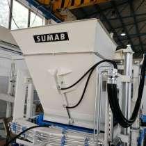 Вибропресс для блоков, плитки, бордюров Sumab R-300L, в Самаре