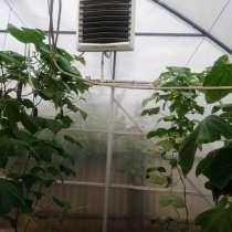 Отопление теплиц тепловентиляторами на горячей воде VOLCANO, в Москве