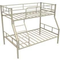 Кровать металлическая Гранада1 бежевая, в Владимире