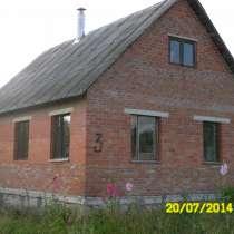 Продам новый кирпичный жилой дом в деревне на 20 сот. земли, в Алексине