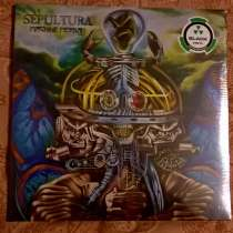 SEPULTURA - Machine Messiah - 2017 2LP, Europe S/S, в Москве