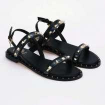 Женские сандалии, чёрные, в Щербинке