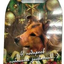 Доска разделочная новогодняя год собаки, в Ростове-на-Дону