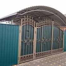 Ворота кованые, калиткию, в Ростове-на-Дону