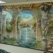 Художественная роспись стен, в г.Караганда