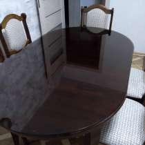 Кухонный стол, стулья, стекло на стол, в Краснодаре