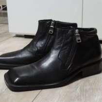 "Мужские ботинки ""Hugo Boss"" Оригинал. Размер RUS 44-45, в Уфе"