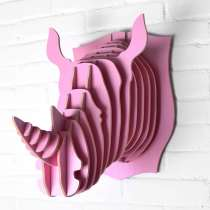 Дизайн Арт Декор Подарок Rhino (Носорог), в Москве