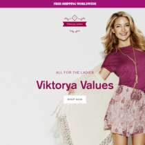 Аll for the ladies in Viktorya Values shop, в г.Los Angeles