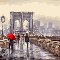 Набор для раскрашивания: «Мост во время дождя». Размер: 40х5, в Челябинске
