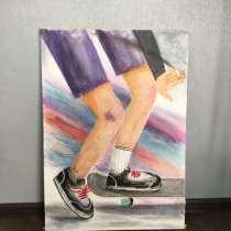 Продам картину молодого художника (Анастасия Дю), в Екатеринбурге