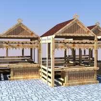 Изготавливаем деревянные ярмарочные домики, в Ростове-на-Дону