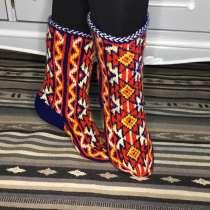 Носки вязаные вручную, дагестанские джурабы, в Москве
