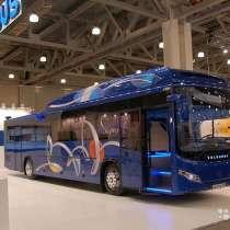 Автобус междугородный Волгабас на метане, в Набережных Челнах