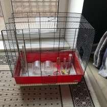 Клетка для птиц с аксессуарами, в Москве