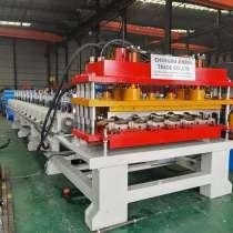 Станок по изготовлении модульной металлочерепицы из Китая, в г.Чэнду