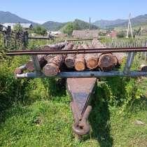 Сеновозная телега, в Горно-Алтайске
