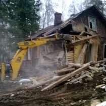 Демонтаж домов зданий разбор металоконструкций, в Рязани