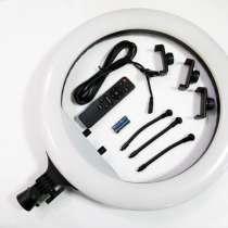 Кольцевая LED лампа RL-18 45см 220V 3 крепл. тел. + пульт, в г.Киев