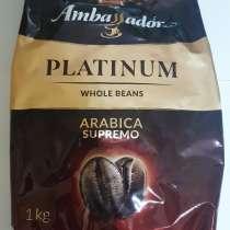 Кофе в зернах Ambassador Platinum, пакет, 1000г, в Москве