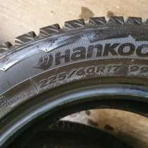 Шины Hankook Winter I*Pike RW11 225/60 R17 99T, в Когалыме