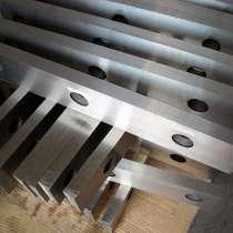 Производство ножей для гильотин по металлу. Ножи 520 75 25мм, в Москве