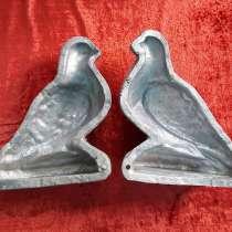 Старинная редкая форма для выпечки, кулинарии Птица, в г.Кременчуг