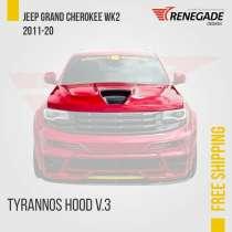 Hood for Jeep Grand Cherokee WK2 SRT Trackhawk 2011-2020, в г.Порту-Алегри