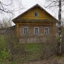 Бревенчатый дом в жилом селе, 260 км от МКАД, в Мышкине
