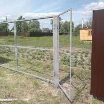 Ворота распашные с калиткой под ключ 3 на 1,5 метра, в г.Лондон