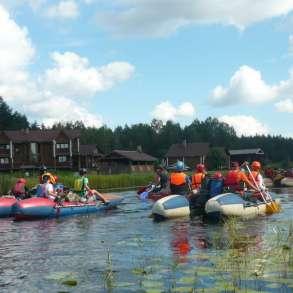 Река ЛУХ - активный отдых для детей и родителей с детьми, в Рязани