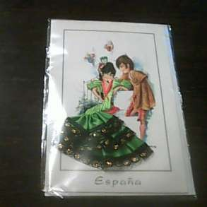 Открытка с конвертом Испания, в Екатеринбурге