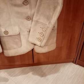 Замшевый пиджак из натуральной кожи в единственном экземпляр, в Видном