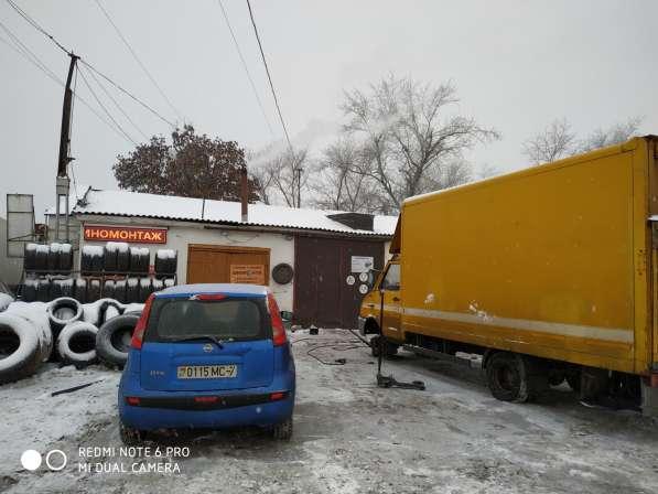 """Грузовой и Легковой Шиномонтаж """"Ангел дорог"""" в"""