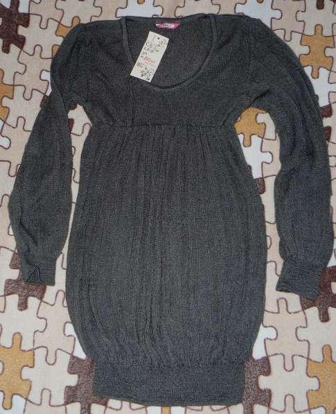 Платье-Туника вязанная новая с этикетками мягкая р.42-44