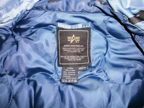 Куртка бомбер Alpha Industries CWU-45 в Екатеринбурге