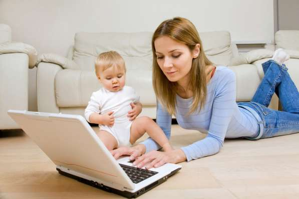 Подработка для мам в декрете (без опыта)