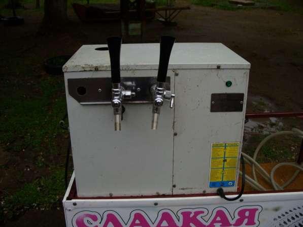Пивной охладитель настольный на два сорта пива