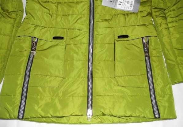 Куртка с оригинальным дизайном накладных карманов. Есть капю в Москве