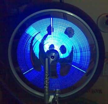 Огонь на колесо