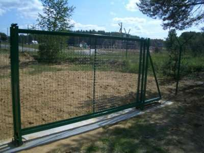 Ворота откатные 3,0*1,7 м