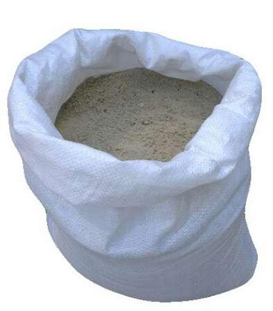 Песок, щебень и керамзит в мешках