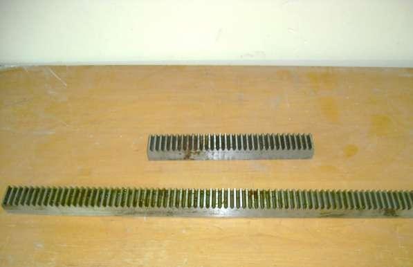 Рейки зубчатые для дровокола