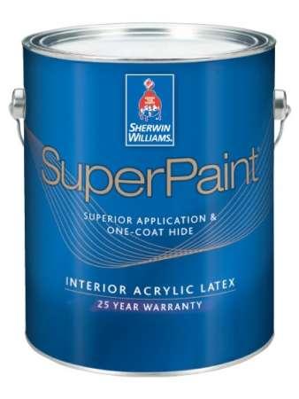 Американские акриловые интерьерные краски без запаха компании Sherwin-Williams.