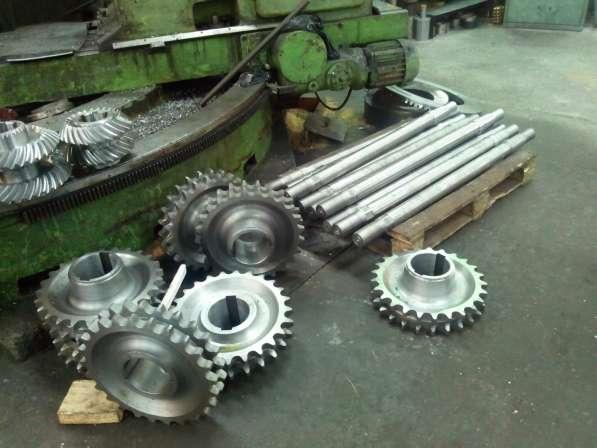 Изготовим вал-шестерни, шестерни, зубчатые колеса