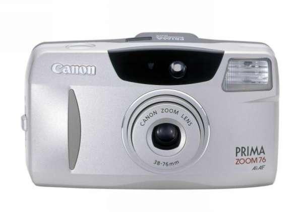 Пленочный фотоаппарат Prima Zoom 76